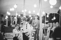 giggling groomsmen