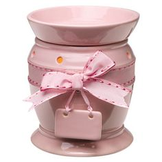 The Pink-a-Boo Scentsy Warmer is one of the many new warmers in the new Spring/Summer 2013 Catalog.
