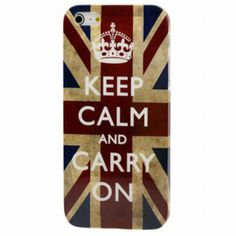 Coque Iphone - Keep Calm And Carry On Angleterre - Ref 403 Samsung Galaxy S4 Cases, Iphone 5 Cases, 5s Cases, Iphone 5s, Ipod Touch Cases, Keep Calm Carry On, Uk Flag, Best Iphone, Coque Iphone