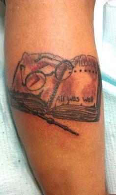 Jasmine Posey's Harry Potter tattoo!