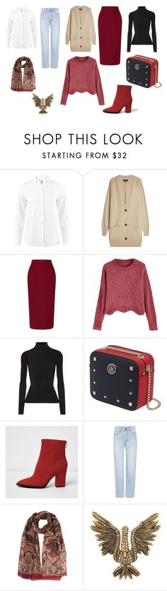 """10 предметов гардероба"" by partners-ko on Polyvore featuring мода, Brunello Cucinelli, Isabel Marant, Roland Mouret, Elizabeth and James, Tommy Hilfiger, River Island, Yves Saint Laurent и Lanvin"