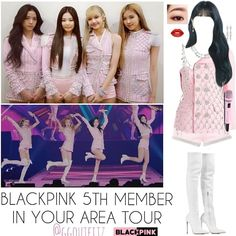 Blackpink Fashion, Kpop Fashion Outfits, Stage Outfits, Edgy Outfits, Girl Outfits, Cute Outfits, Korean Outfits Kpop, Bts Inspired Outfits, Teenager Outfits