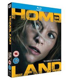 Homeland Season 5 - Blu-Ray (20th Century Fox Region B) Release Date: April 25, 2016 (Amazon U.K.)