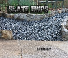 9 best nashville stone and rock yards images on pinterest garten slate chips in nashville tn available for brentwood franklin spring hill and nolensville tn areas on our stone site here solutioingenieria Choice Image