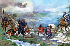 La Pintura y la Guerra. Sursumkorda in memoriam Shiloh, Military Art, Military History, Second Crusade, Friedrich Ii, Templer, Knights Templar, Dark Ages, Historical Pictures