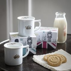 Prince & Princess Royal Tea Mugs