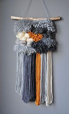 Weaving wall hanging, weaving boho, tapestry, wool, wall weaving, woven wall hanging, wall décor, madeinpoland, tribal art