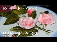 ВЫШИВКА  ЦВЕТОЧНЫЕ ШВЫ    EMBROIDERY   Flower stitch - YouTube