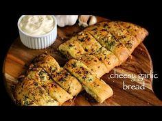 garlic bread recipe   cheesy garlic bread recipe   garlic cheese bread