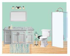 """Sale de bain"" by piloneugenie on Polyvore featuring interior, interiors, interior design, maison, home decor, interior decorating, Suki Cheema, Calypso St. Barth, Belle Foret et Dot & Bo"