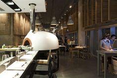 Jaffa Tel Aviv, Haim Cohen - GR140 Valoriani wood fired oven