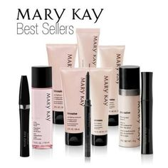 Mary Kay Best Sellers. Since i started using them i have kicked all other products to the curb and wont go back. Any doubts? register at my website and i will send you some samples. STILL not convinced, if you purchase ANY product and don't love it 100% you get your money back 100%. really what do you have to lose? www.marykay.com/mmprokop  call or text me at 732-504-4598