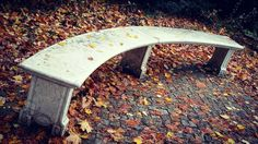 New photo online Autumn bench in park #neuergarten #potsdam - #fall Hope you like it