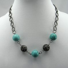 casual necklace for wining and dining.......  cavossa designs - Birdcage Necklace, $32.00 (http://www.cavossadesigns.com/birdcage-necklace/)