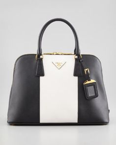 prada handbag black leather - Prada Small Saffiano Promenade Bag, Black (Nero), Women\u0026#39;s, Size: S ...