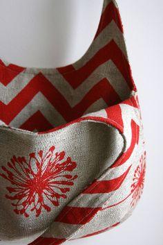 Reversible Hobo Bag - Sewing