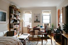 TOUCH this image: Most of my furniture, I find in second hand stores. by FvF