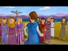 The Jesus Movie, Animated Bible story. Films For Children, Bible Stories For Kids, Bible For Kids, Toddler Bible, Bible School Crafts, Preschool Bible, Bible Crafts, Jesus Bible, Jonah Bible