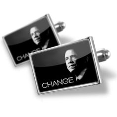 Neonblond Cufflinks Barack Obama President - cuff links for man NEONBLOND Cufflinks. $29.90. Standard Size is approximately 19mm x 12mm. We have more then 4000 different Cufflinks. Unique Gift for the Modern Classic Man. Products are Assembled in America. Comes with our Free Velvet / Satin Bag