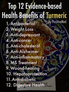 health benefits of turmeric -  Top 12 Evidence-Based Health Benefits of Turmeric