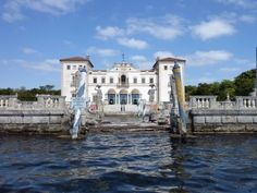Miami Vizcaya pics | The Vizcaya mansion, now known as the Vizcaya Museum and Gardens, is a ...