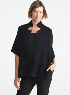 This.is.so.fly. I don't know if I'll ever be able to afford Eileen Fisher or if I ever should, but my, my, my....
