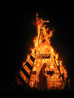 Burning of the Man 2011