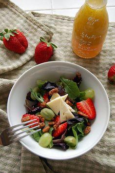 Salad Dressing Made Easy - Bulgur Salad Salad Dressing Recipes, Salad Recipes, Spring Mix Salad, Bulgur Salad, Spiced Pecans, Easy, Heart Healthy Recipes, Vegetable Side Dishes, No Cook Meals