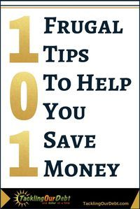 101 frugal ways to save money