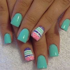 16 nail art designs collection for summer 2015