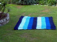 Crochet Afghan--Jacobs Ladder