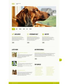 Dog Training, Grooming & Rescue WordPress Themes - Dogs Life (WordPress theme) Item Picture