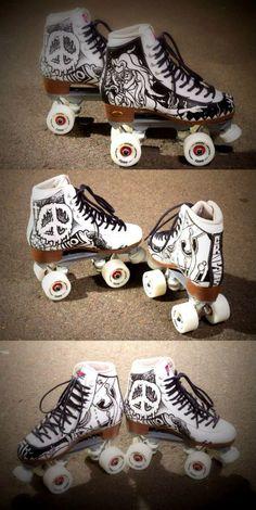 Artists: CRISIS & Baker Rio Roller, Roller Derby, Roller Skating, Ice Skating, Figure Skating, Skating Pictures, Roller Skate Shoes, Skate 3, Hobbies To Try