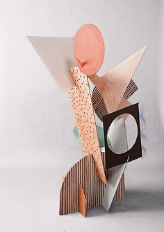 Katharina Trudzinski builds geometric paintings and precarious-looking sculptures and installations seem like the product of a mind ceaselessly arranging a