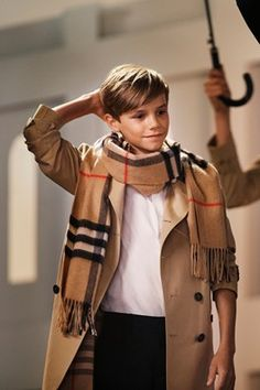 Romeo Beckham Burberry campaign - click through to watch the film
