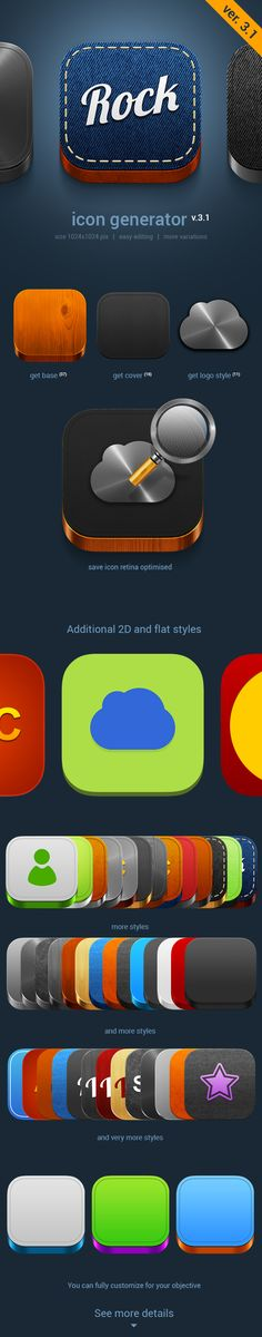 IOS7 icons generator by TIT0 on deviantART