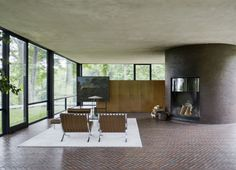 The Glass House by Philip Johnson in New Canaan Connecticut photographed by Matthew Williams |  Remodelista