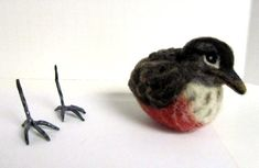 Living Felt blog is the place for tutorials to make a wide variety of critters and things.