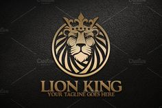 Ad: Lion King by herulogo on Premium edgy and breathtaking lion king logo for sale which is magnificently designed and elegantly put together to put your brand stand out Logo Lion, Logos Ideas, Branding, Creative Sketches, Pencil Illustration, Paint Markers, Business Card Logo, Watercolor And Ink, Logo Templates