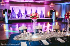 Modern Candle Wall Indian Reception Decor By Spotlight