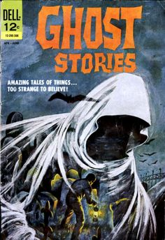 Comic Book Cover For Ghost Stories #2