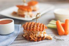 Buffalo Chicken Sweet Potato Sliders Recipe on Yummly