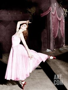 THE RED SHOES, Moira Shearer, 1948. Photo at Art.com