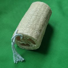 Unbleached loofahs, a alternative to plastic kitchen sponges