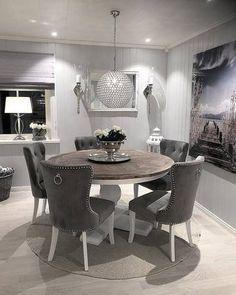 Bygget drømmehuset fra Fiskarhedenvillan Ikea, Home And Living, Living Room, Modernisme, Muuto, Dining Room Inspiration, Home Decor Kitchen, Condo, Dining Table