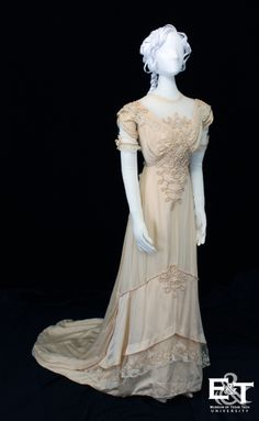 Wedding dress, 1912 From the Museum of Texas Tech University