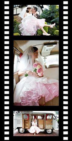 Pink petticoat under dress