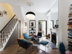 floor plans for victorian terrace opening up interior Style At Home, Home Living Room, Living Spaces, Tiny Living, Kitchen Living, Victorian Terrace Interior, Victorian Living Room, Victorian House, Terrace Design