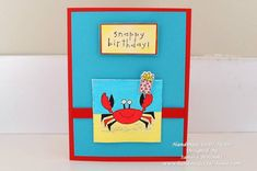 Snappy Birthday by Sandra's Way - Cards and Paper Crafts at Splitcoaststampers