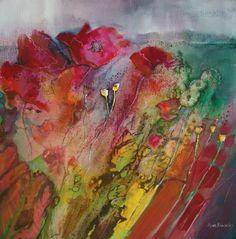 Por amor al arte: Ann Blockley Watercolor Artists, Watercolor Techniques, Abstract Watercolor, Watercolor Landscape, Art Techniques, Watercolor Paintings, Abstract Art, Original Paintings, Watercolors